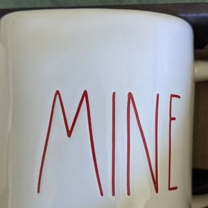 Rae Dunn Dining - Yours and Mine Mug Set